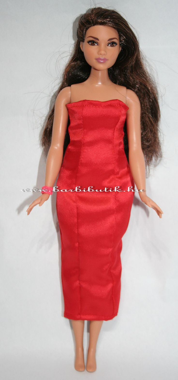 Dundi barbie estélyi ruha. / Curvy barbie evening dress.