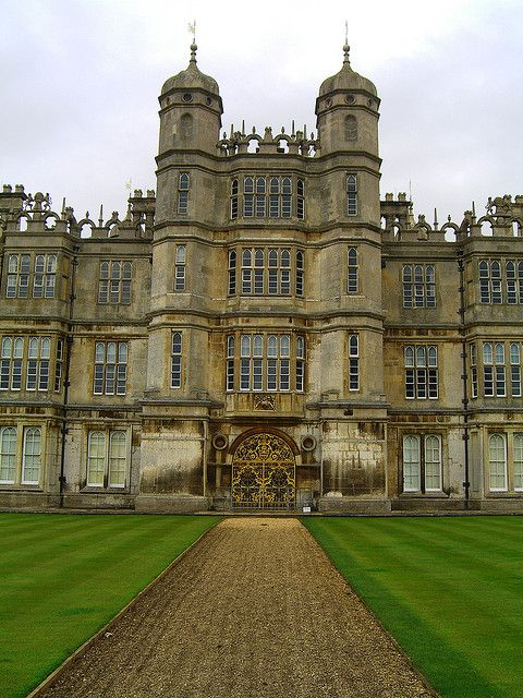 Burghley House, Lincolnshire, England, UK - a grand 16th-century country house near to Stamford, Lincolnshire, England. Its park was laid out by Capability Brown.