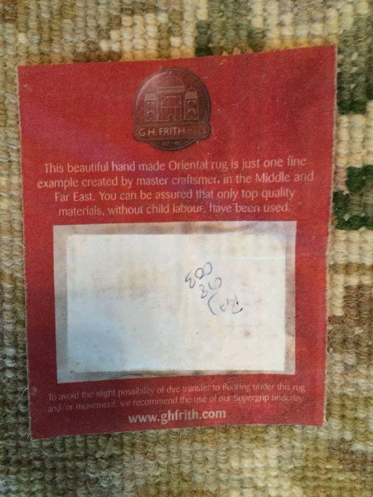 G H Frith Oriental Rug Ebay