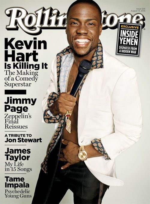 Kevin Hart Opens Up About Dealing With Homophobia, Race & Why He's His Only Competition In Rolling Stone Magazine