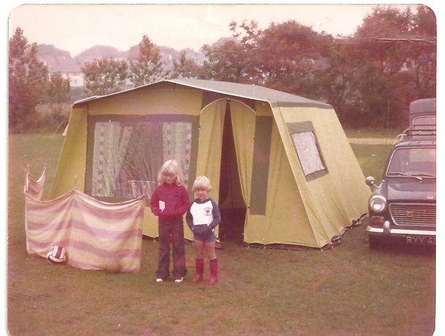 La tente des vacances
