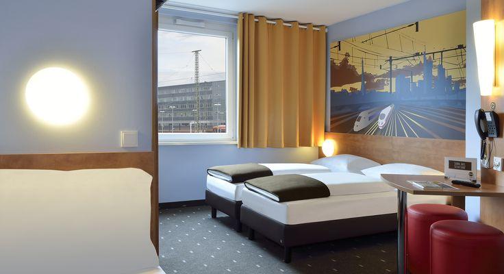 Dreibettzimmer im B&B Hotel Saarbrücken-Hbf