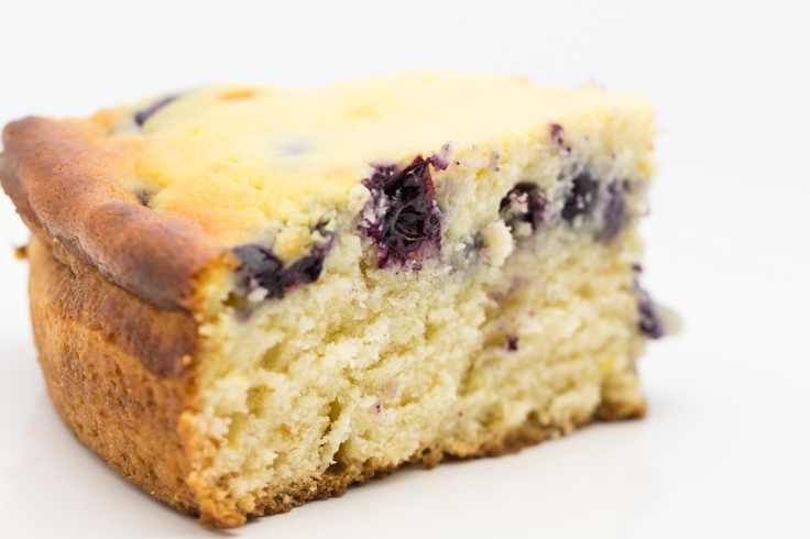 Blueberry-Lemon-Ricotta Cake