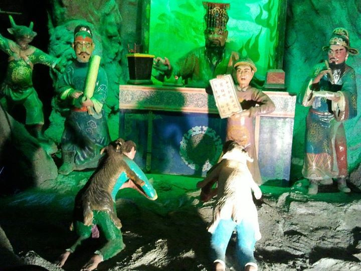 Ten Courts of Hell - Haw Par Villa in #Singapore - #TravelTips #TravelPics
