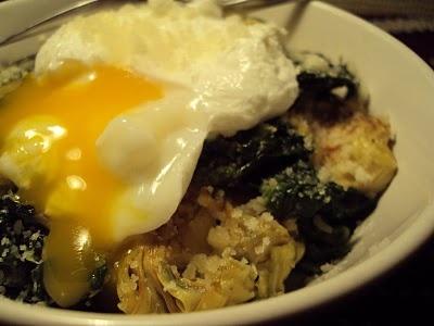 LCHF-bloggen: Egg florentine med artisjokkhjerter