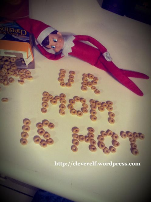 CRACKS ME UP! Funny PG-13 elf ideas for older kids/adults! @Charity Scantlebury Martinez