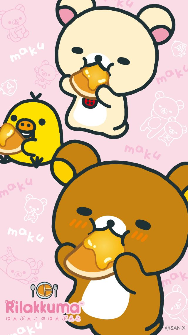 Rilakkuma Pancake Phone Wallpaper • 640x1136 • 1080x1920