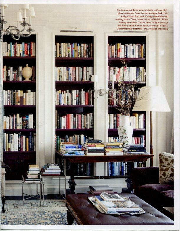 Book cases. Essential, if your other half reads as much as mine does.