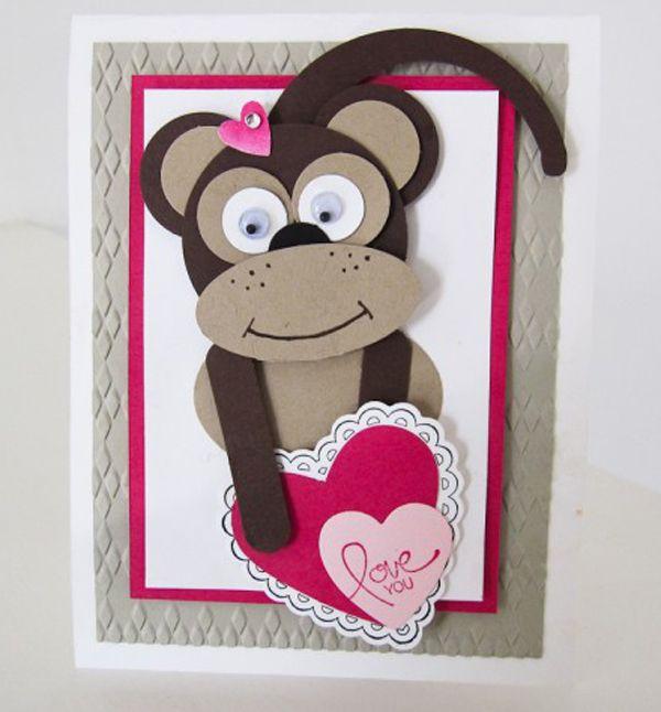 открытки с обезьянами своими руками покупайте продавайте