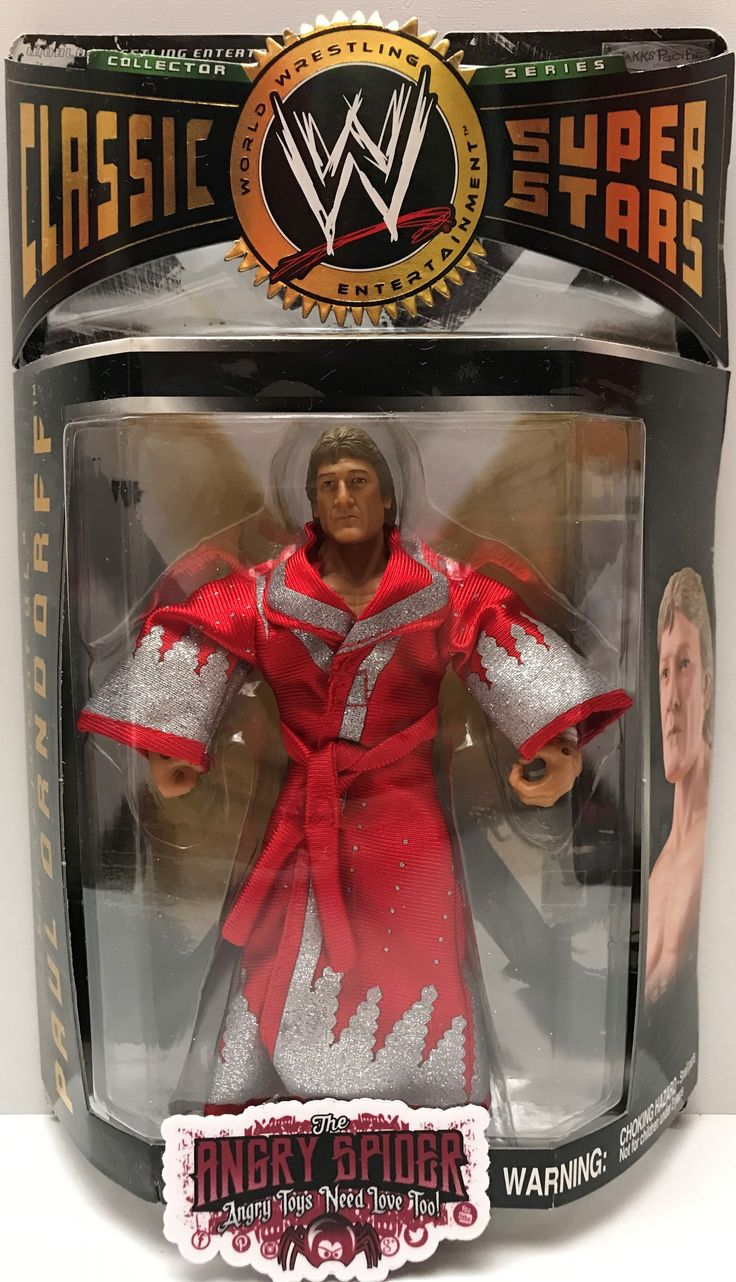 This just in at The Angry Spider Vintage Toy Store: (TAS037257) - 200...  Check it out here! http://theangryspider.com/products/tas037257-2004-jakks-wwe-classic-superstars-mr-1derful-paul-orndorff?utm_campaign=social_autopilot&utm_source=pin&utm_medium=pin