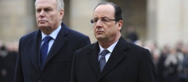 La popularité de Hollande et Ayrault tombe à 26%, selon Opinion Way