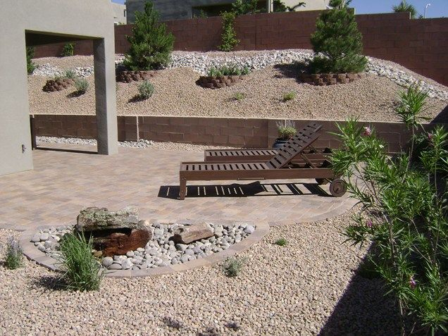 25 best ideas about desert backyard on pinterest desert for Landscaping rocks albuquerque