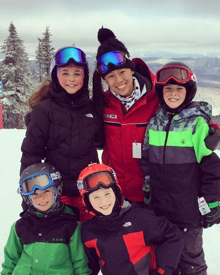 Les plus hot ❤️❄️ #skikids #skicoach #skilife #msa #sommetsstlaurent #mespetitsenfants