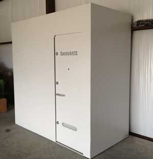 1000 ideas about storm shelters on pinterest above for Garage safe room