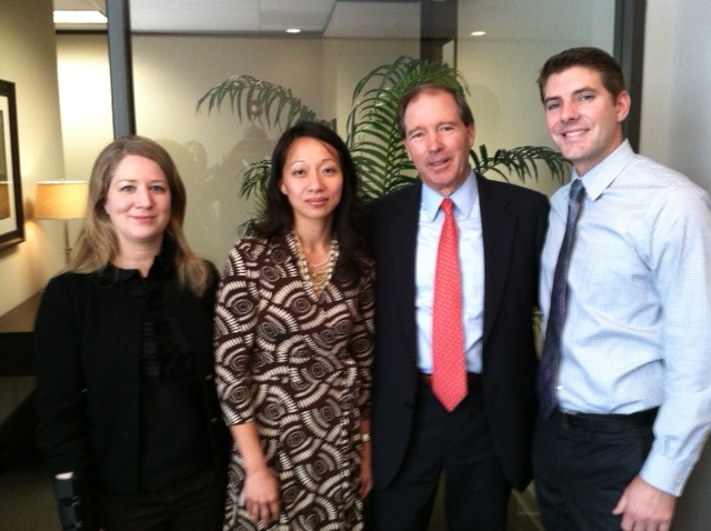 Senator Tom Udall visited PreCheck's Houston headquarters in January 2013 to discuss patient safety     http://www.precheck.com/news/new-mexico-senator-tom-udall-visits-background-screening-firm-precheck-incs-houston