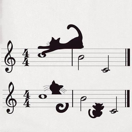 #cats make their own kind of music. LOOOOOVEEEEEE When a cat does not purr there is something wrong, When a cat makes a meow sound they are hungry and they want to eat. When a cat growls they do not like you. When a cat sleeps with you that is love. Trust is earned and there is nothing better than that. Sleep tight. My thoughts on cats. Theincensewoman