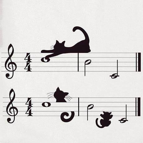 ♫ ♪♪ I can hear mewsic ♫ ♪♪