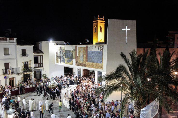 Fiestas en honor a Ntra. Sra. Virgen de las Nieves #Calpe #Calp