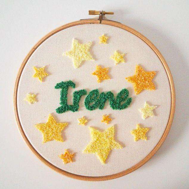 Aguja mágica - Bastidor Irene #bastidor #bordado #agujamágica #diy #bordadoruso