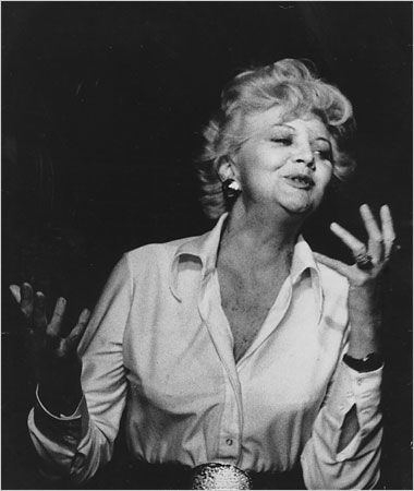 'The word theatre comes from the Greeks. It means the seeing place. It is the place people come to see the truth about life and the social situation.' Stella Adler