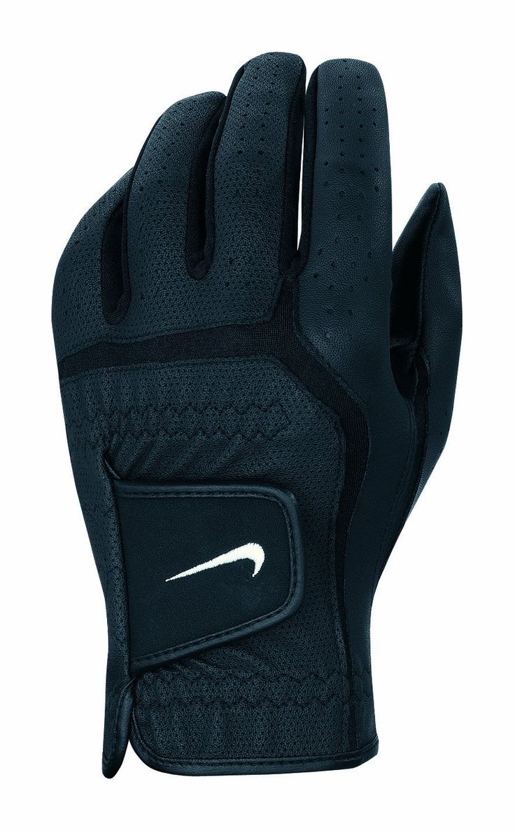 Mens nike leather gloves - The Customized Fitting System On This Mens Dura Feel Vi Golf Glove By Nike Is Great