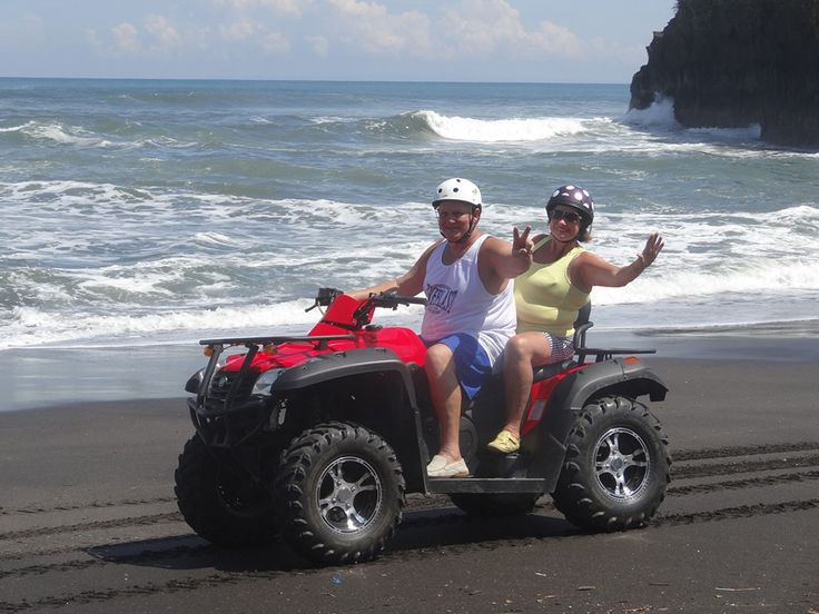 "ATV Beach Ride Bali "" ATV Beach & Village Tour Bali "" #balitour #baliatv #travel #holidayspackage #traveling #adventure #beach"