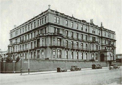 Cliveden Mansions in Melbourne,Victoria (year unknown).
