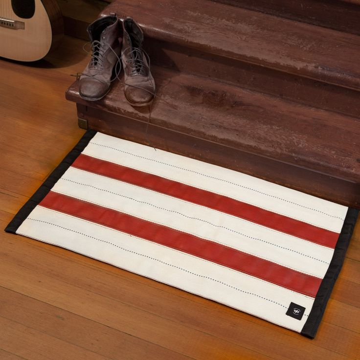 Fancy - Fire Hose Mat by Oxgut Hose Co.