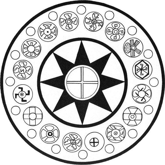 Lemuria Symbole