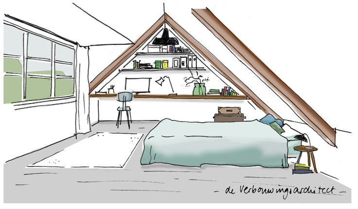 Geef jouw rommelzolder meerwaarde met een dakkapel