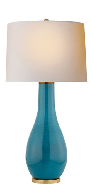 Orson Balustrade Form Table Lamp Visual Comfort 325 High Also In Navy Orange