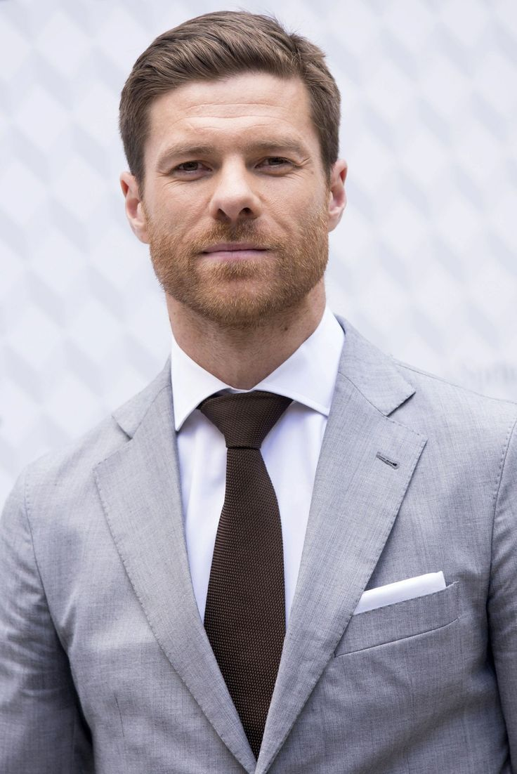 2014-04-03 Xavi Alonso presents the new Emidio Tucci collection at Casa de America on on April 3, 2014 in Madrid, Spain.