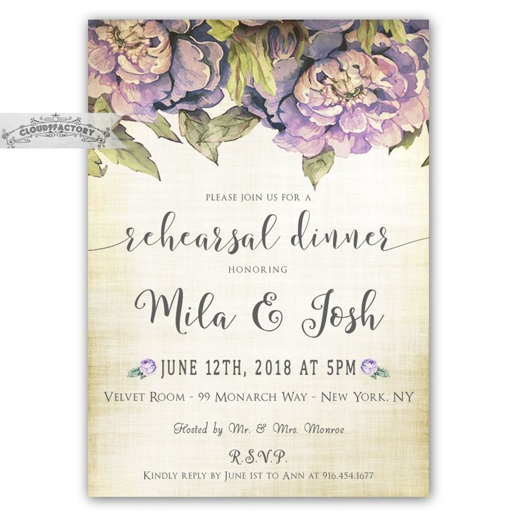 2612 best rehearsal dinner invitations images on pinterest wedding rehearsal dinner invitations digital or by cloud9factory junglespirit Image collections