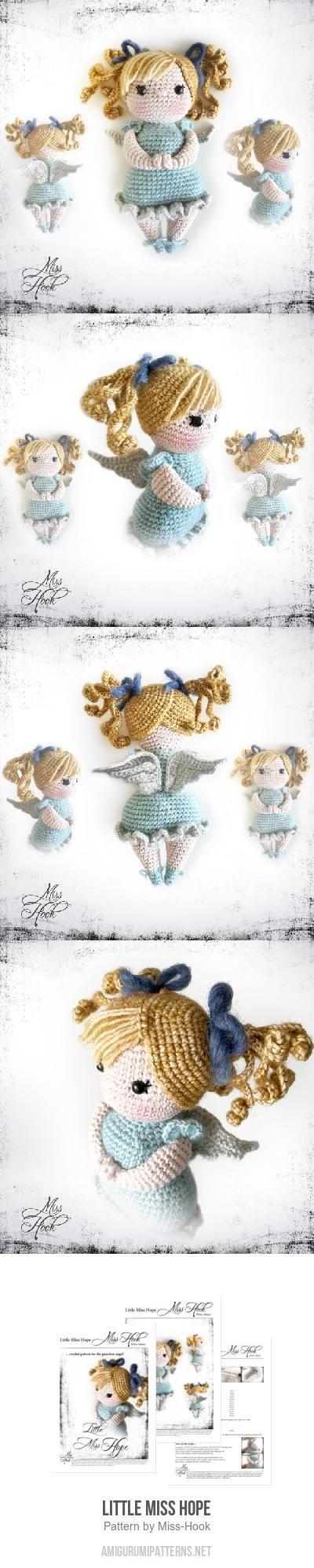 Little Miss Hope amigurumi pattern