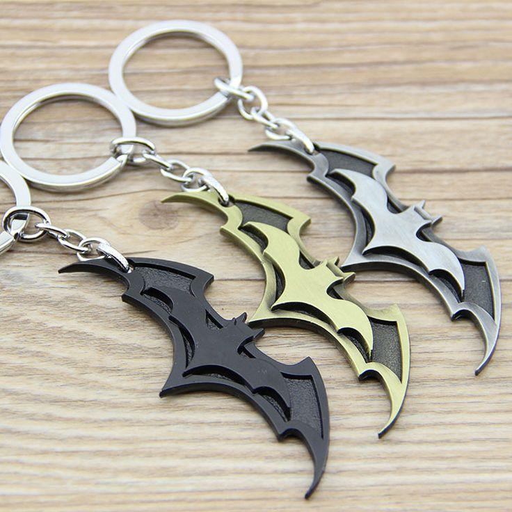 Superhero Batman Metal Keychains