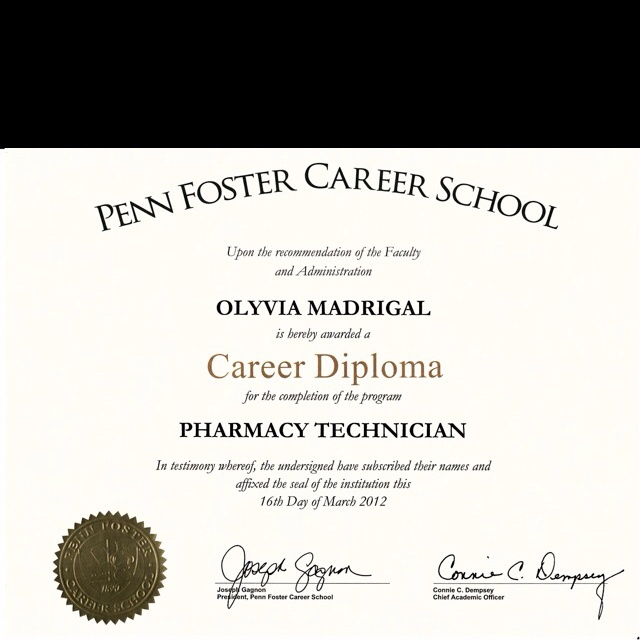 Pharmacy Technician top college degrees 2017