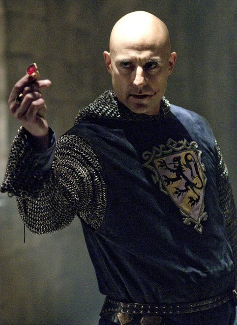 Yes, Mark Strong, I will accept the ring and your adoration.