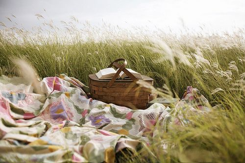 The way the smell of the ocean's breeze makes a picnic lunch taste better and the sounds of the ocean make the nap afterwards so serine.