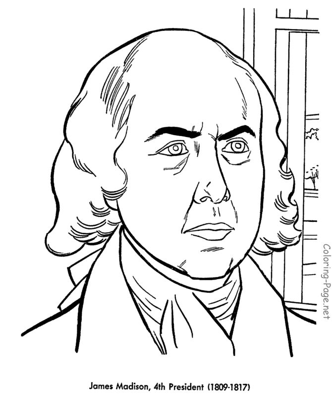 260 best american history government elementary level for James coloring pages