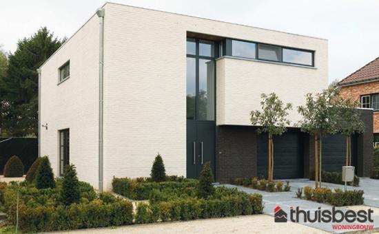 Realisatie | Thuis Best woningbouw | Modern | Eigen woning bouwen? www.thuisbest.be