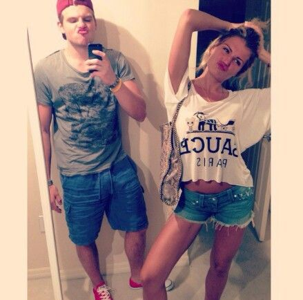 Alex Galchenyuk and his sister Anna