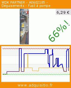 WDK PARTNER - A0602185 - Déguisements - Fusil à pompe (Jouet). Réduction de 66%! Prix actuel 6,29 €, l'ancien prix était de 18,41 €. https://www.adquisitio.fr/multi-toys/imitations-fusil-a-pompe