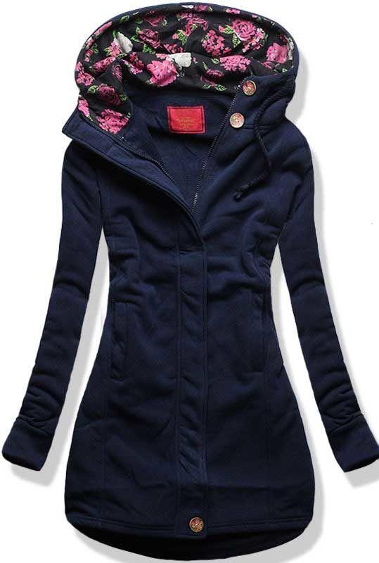 BLUZA TUNIKA D054 GRANAT Granatowy | Odzież damska \ Bluzy | odzież damska - netmoda.pl wykreuj swój styl