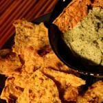 Chickpea Chips (Corn free Nacho Chips, Gluten Free, Vegan)