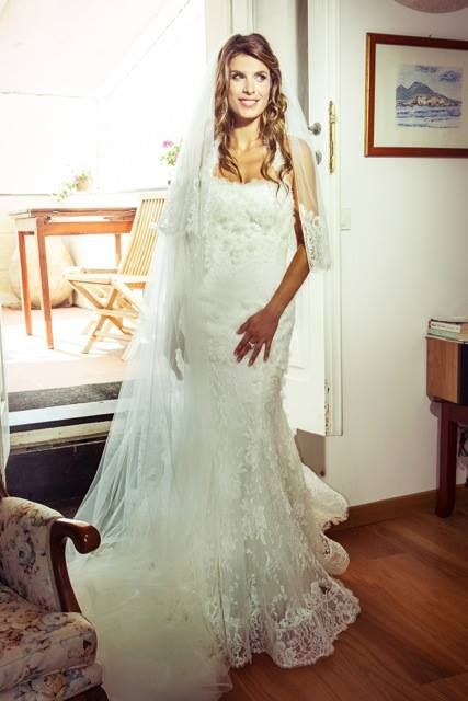 #weddingedress #alessandroangelozzicouture #elisabettacanalis #elisabettacanalisweddingdress