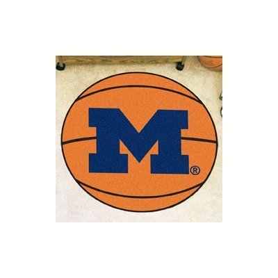 FANMATS NCAA University of Michigan Basketball Mat