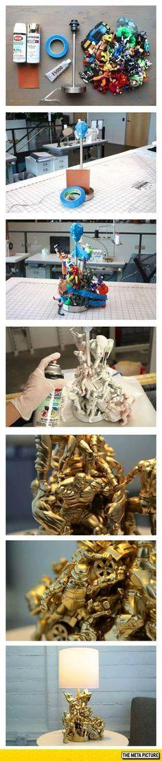 How To Create A Superhero Lamp