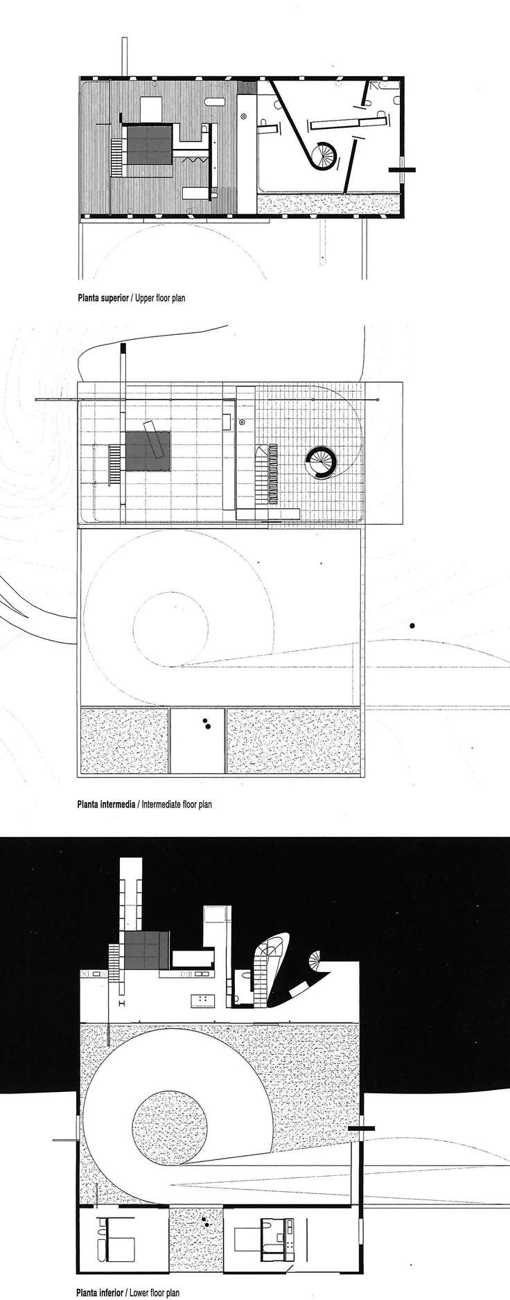 Rem Koolhaas Maison 224 Bordeaux Plans Amp Sections