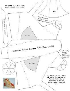 Paper Shoe Pattern