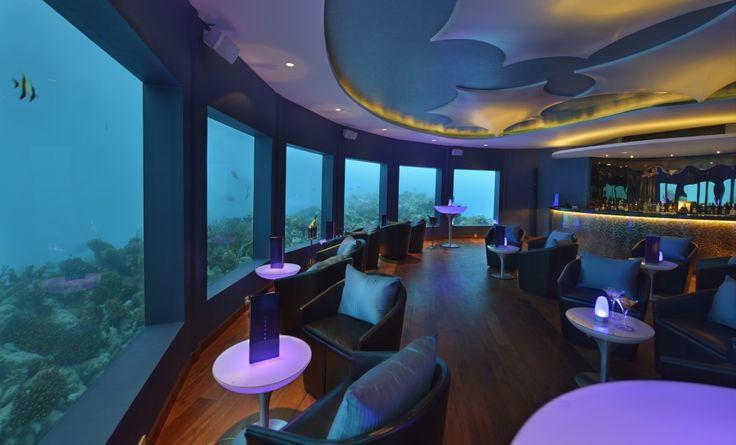 Unterwasser-Restaurant NIYAMA BY PER AQUUM 5* │ MALEDIVEN